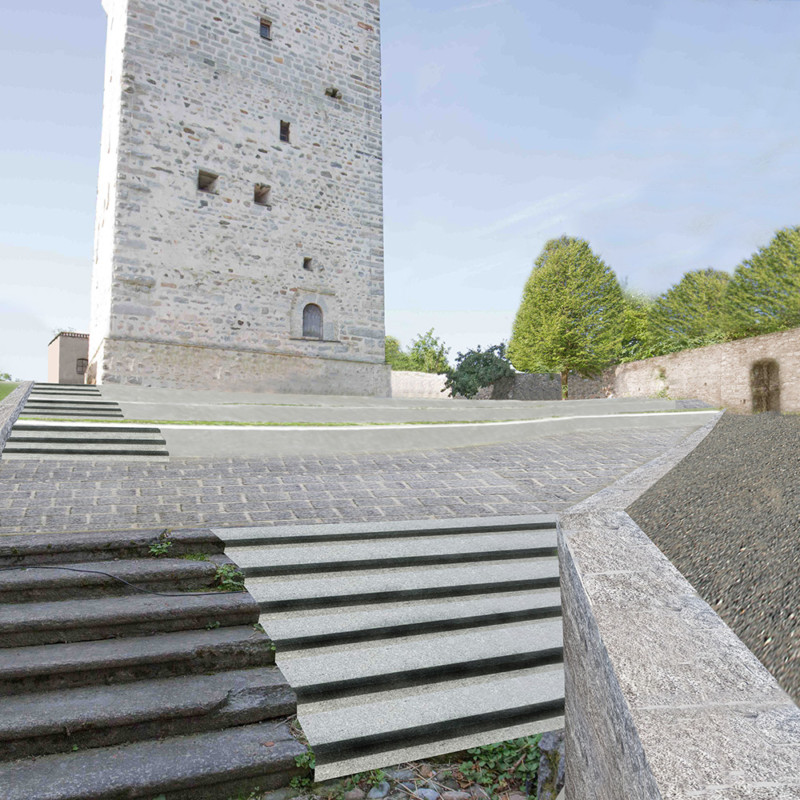 Umgestaltung-historischer-Schlosshof