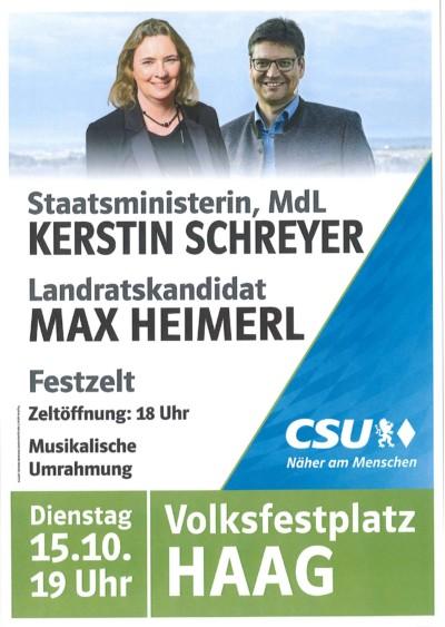 CSU-Haag-PolitischerFestabend-KerstinSchreyer-MaxHeimerl