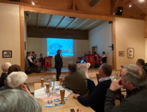 """""""Bauen gestaltet die Lebenswelt"""" Vortrag bei CSU Kreistagskandidatenvorstellung in Haag"""