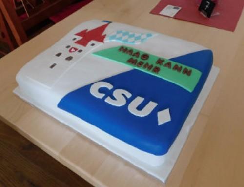 Kaffee und Politik mit der Haager CSU