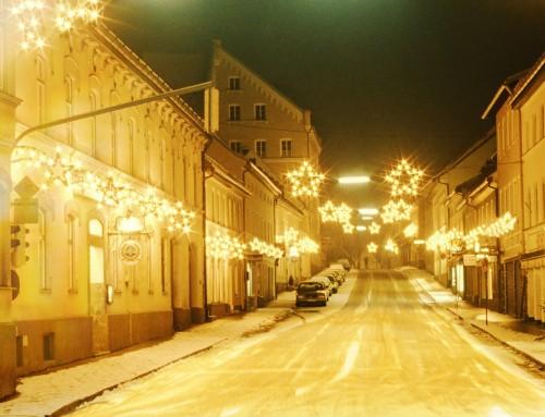Weihnachtsbeleuchtung offenbar nicht so marode wie manchmal dargestellt.